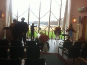 Begravning i kapellet Gröen i Landvetter