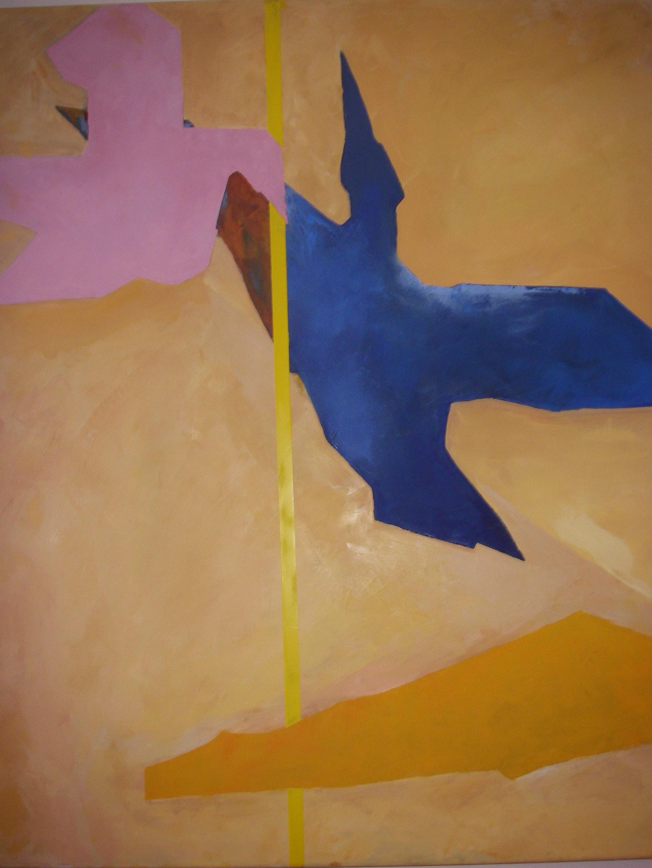 oljemålning 100x100 cm 4.500:-
