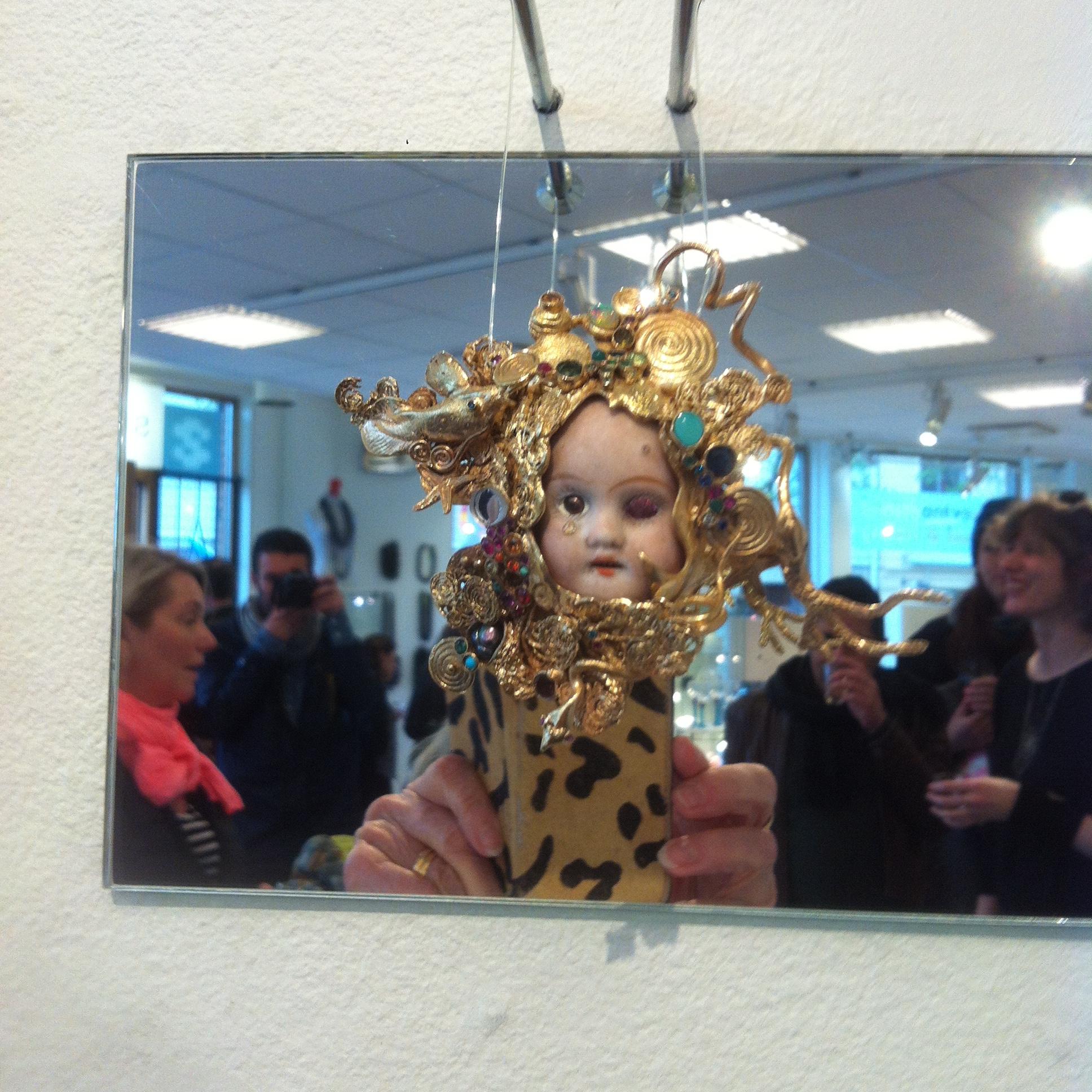 Serena Holms utställning på Sintra vid Järntorget i Göteborg