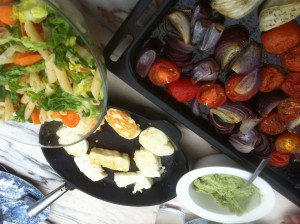 Min vegetariska lunch