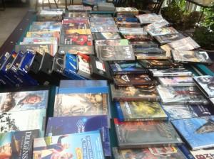 Bord fullt med filmer