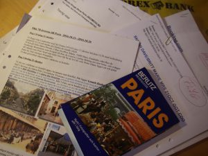 Parisförberedelser