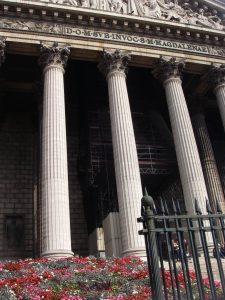 Eglise de la Madeleine blev det första provbesöket