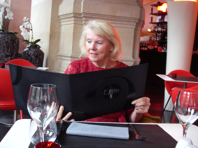 Restaurangen på Opera Garnier