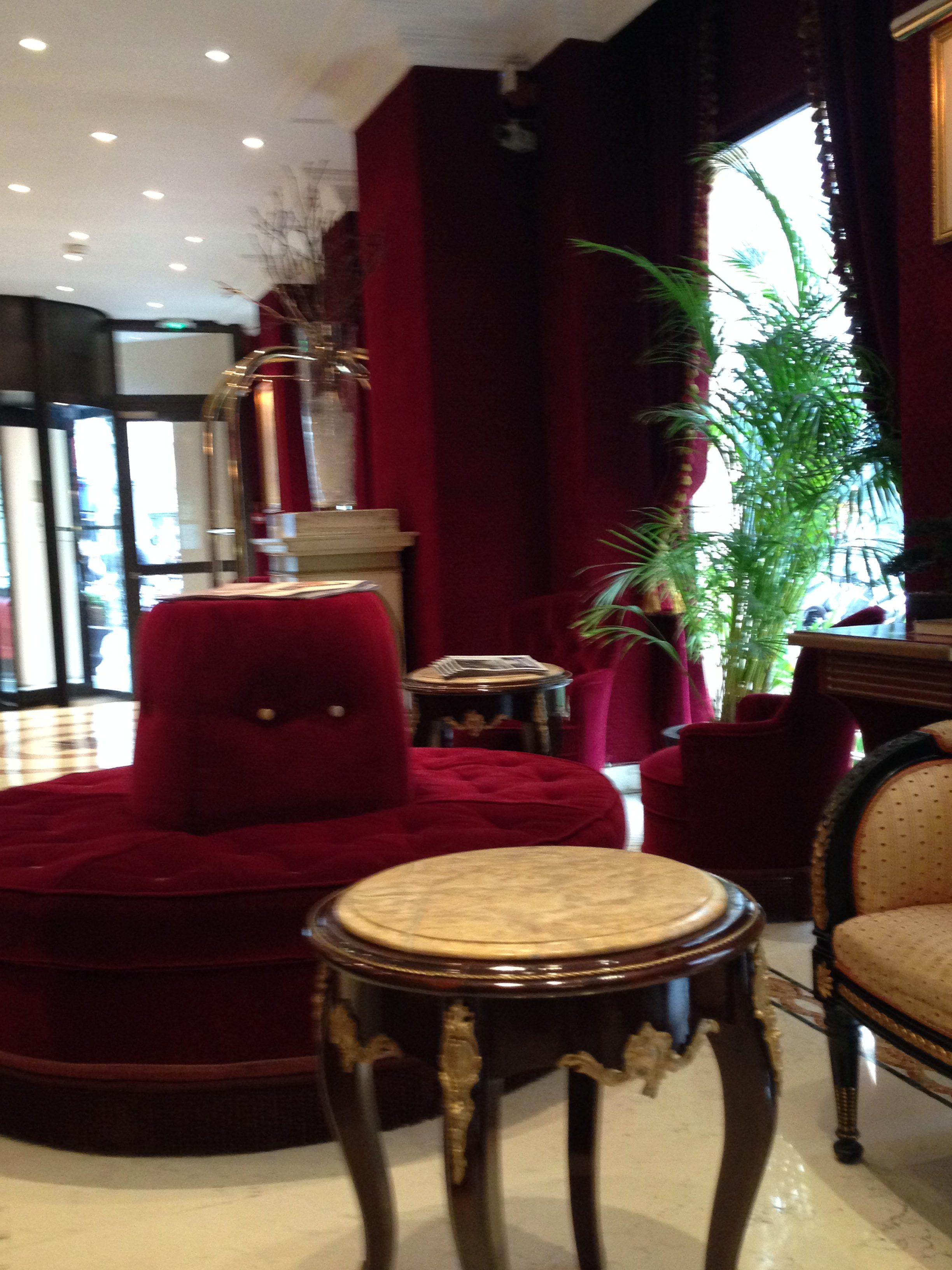 Interiör från hotellet