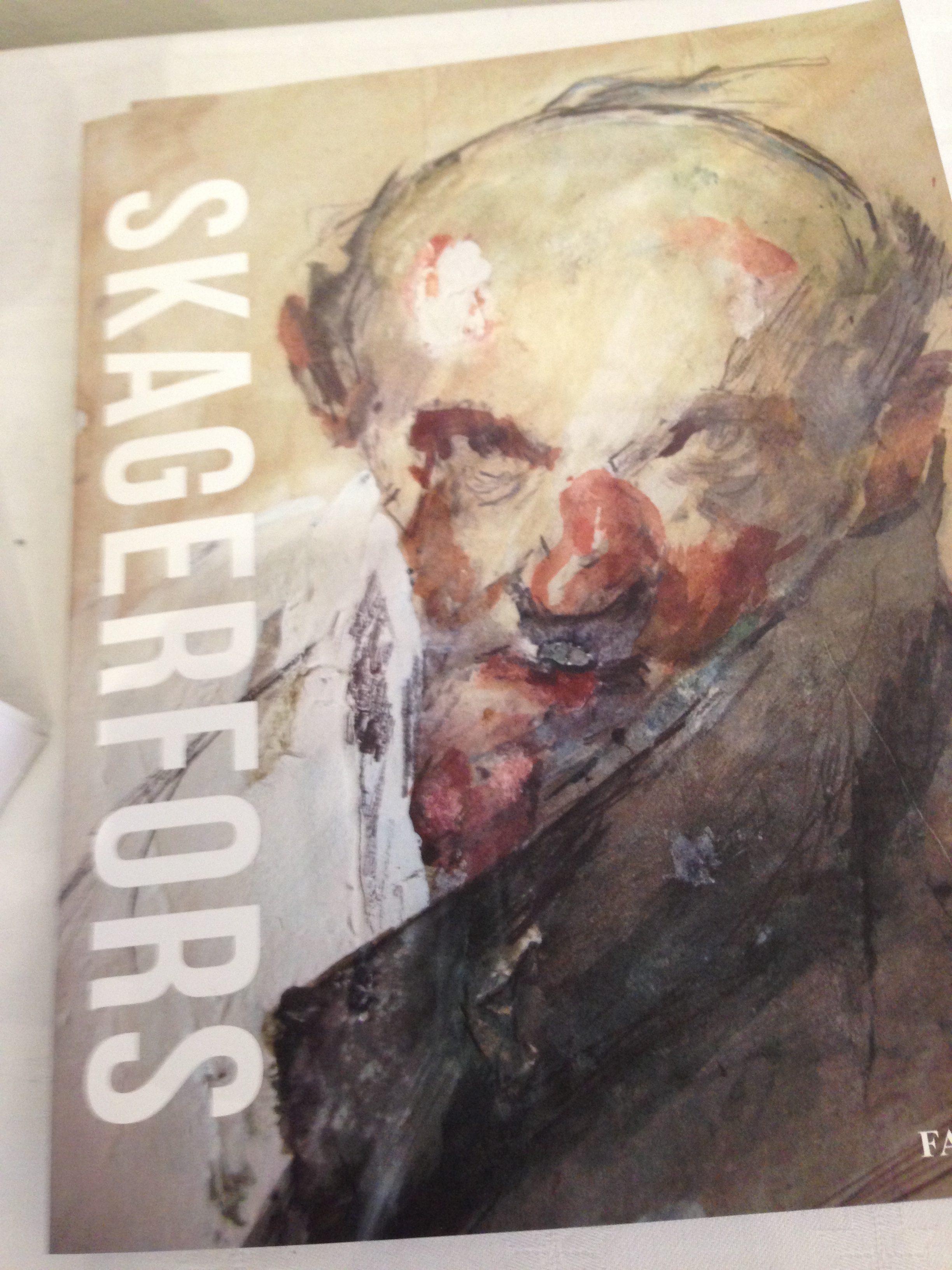 Målning av Olof Skagerfors