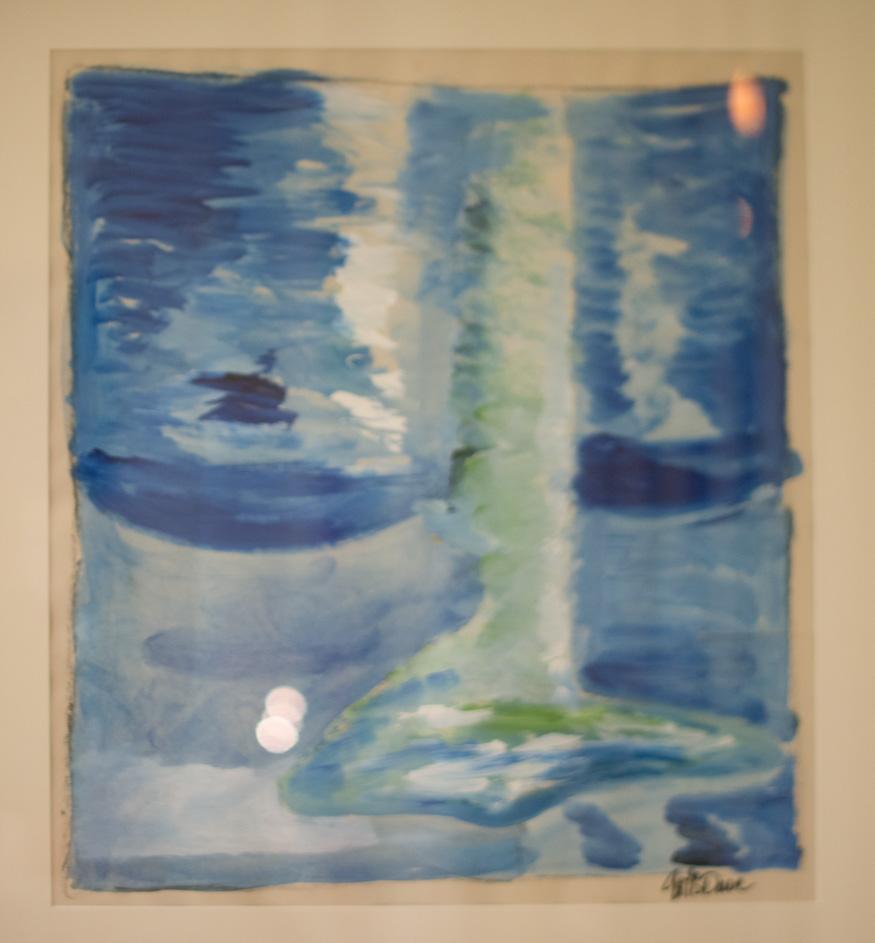 Egen målning 2011 Vattumannen