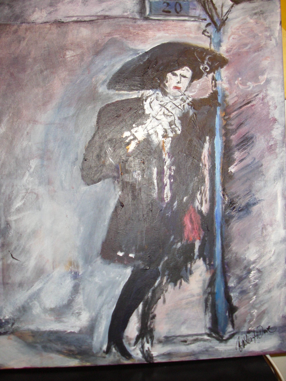 Målat av original av Bo Åke Adamsson