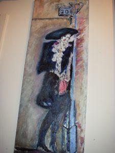 Målning efter Bo Åke Adamssons Montparnasse