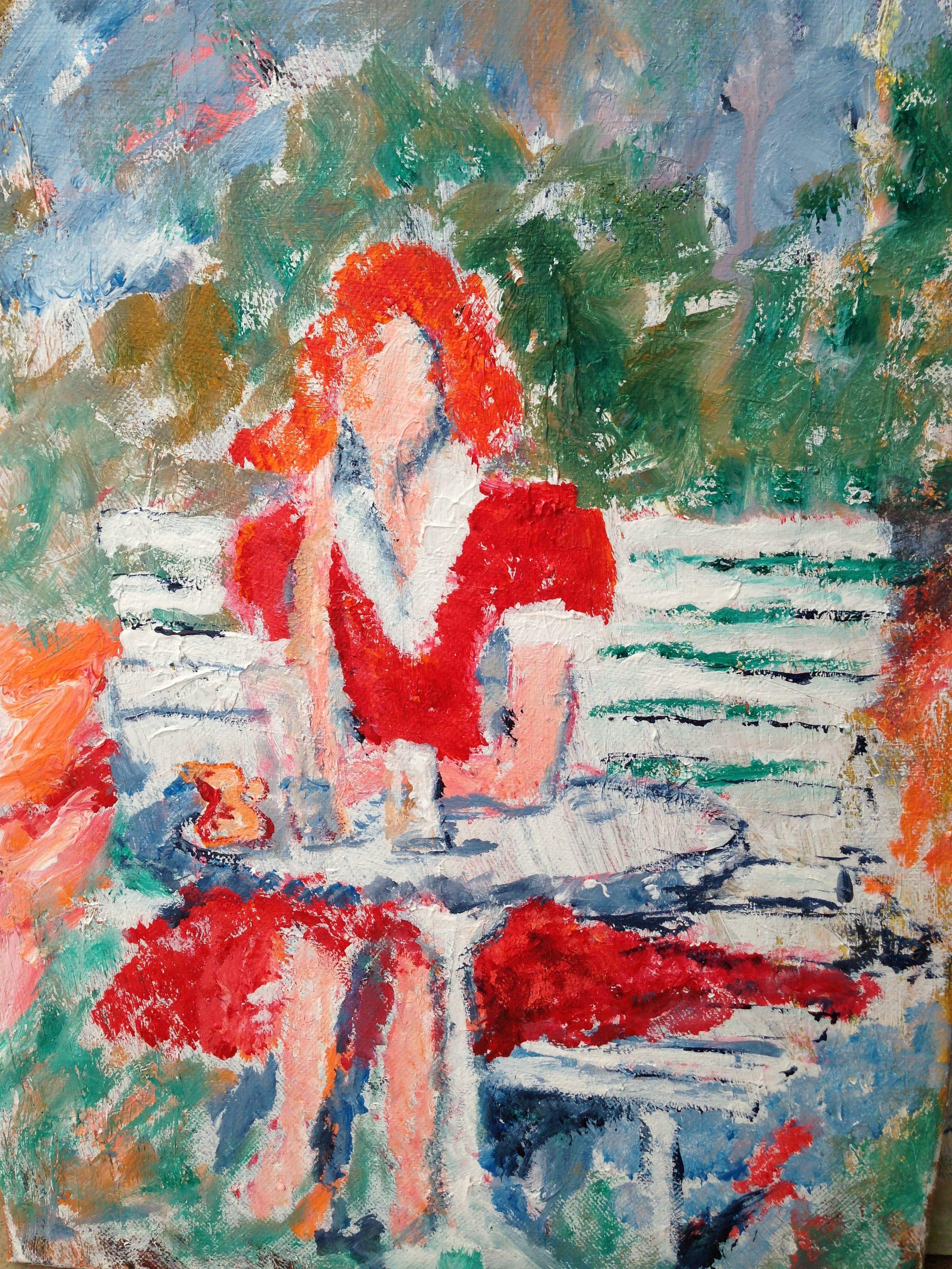 Akryl 50 x 60 cm