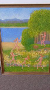 Curt Hanssons målning