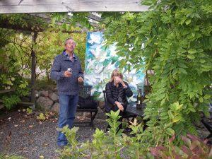 Konstrundan 2015 Fikapaus för grillmästaren