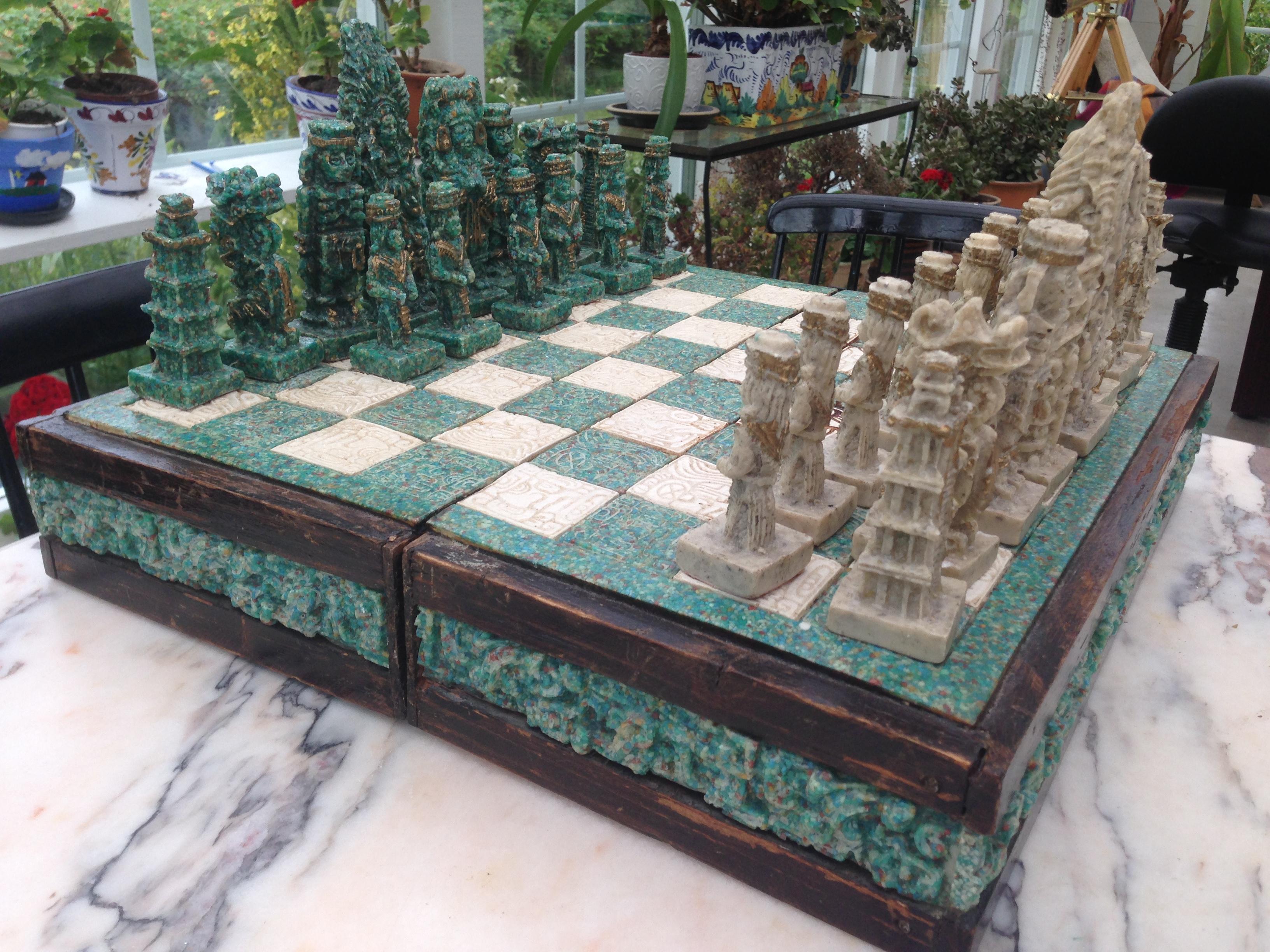 """Mitt fina """"onyx""""-schackspel"""