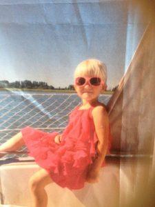 Emma ute och seglar 2017