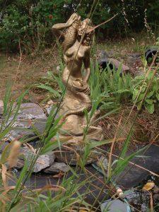Pappas sjöjungfru vår damm