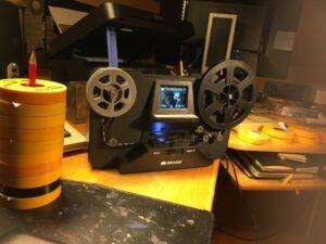 Super8-filmer och filmscanner