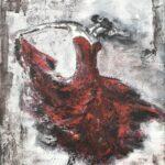 Danserska i La Bocca olja 70x50 cm Pris 3.500:-