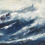 Till havs 40x95 cm Pris 5.500:-