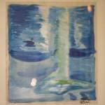 Aquarius akryl Såld