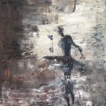 Ballerinan Olja 40x30 cm Pris 1.900:-