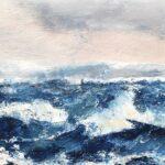 Liten till havs olja 58x25 cm Pris 2.000:-